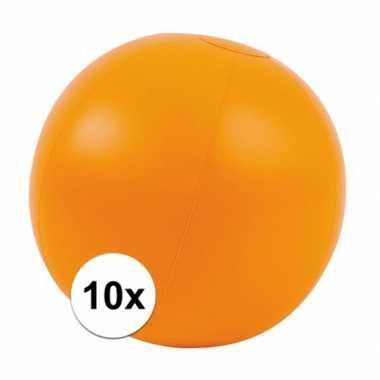 10x oranje standbal
