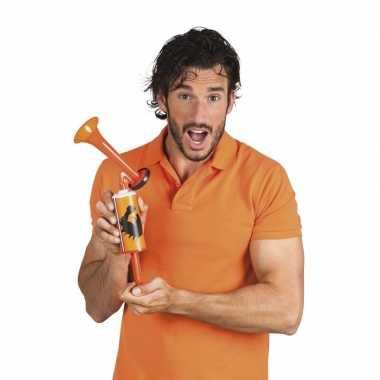 6x oranje nederlandse supporter toeter