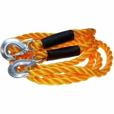 Autopech sleepkabel tot 5000 kg oranje