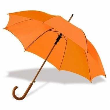 Basic paraplu oranje 103 cm