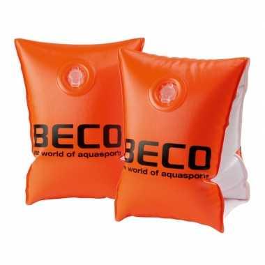 Beco zwemvleugels maat 0 oranje tot 15 kg