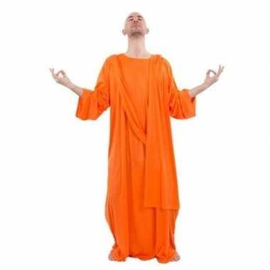 Boeddha oranje gewaad voor heren