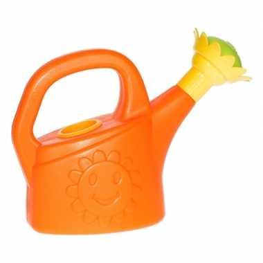 Buitenspeelgoed oranje gieter voor jongens/meisjes/kinderen