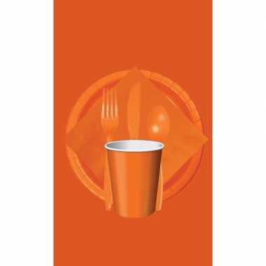 Feest decoratie pakket oranje holland supporter fan
