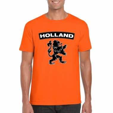 Holland shirt leeuw oranje heren