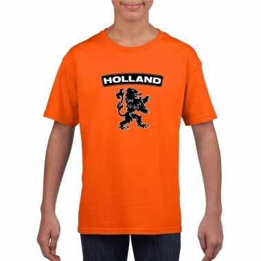 Holland shirt leeuw oranje kinderen