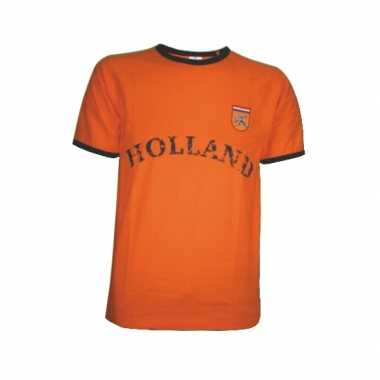 Holland shirt oranje met de tekst holland 10057370