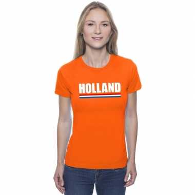Holland supporter shirt oranje dames