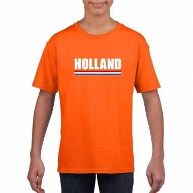 Holland supporter shirt oranje kinderen