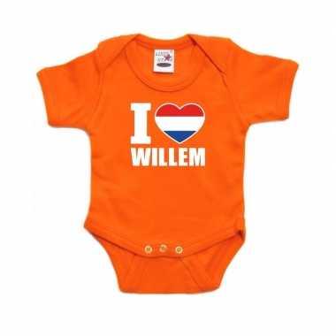 I love willem rompertje oranje babies