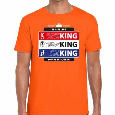 Kingsday if you like shirt oranje heren