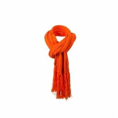 pre-order klassiek 100% hoge kwaliteit Lange oranje winter sjaal voor dames en heren 210 cm