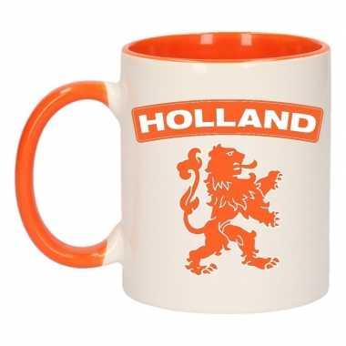 Mok beker holland oranje leeuw 300 ml