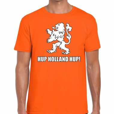 Nederlands elftal supporter shirt hup holland hup oranje voor heren