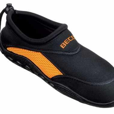 Chaussures D'eau Pour Les Hommes Orange Noir XDfzVS