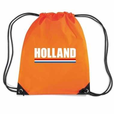 Nylon rugzak holland supporter oranje