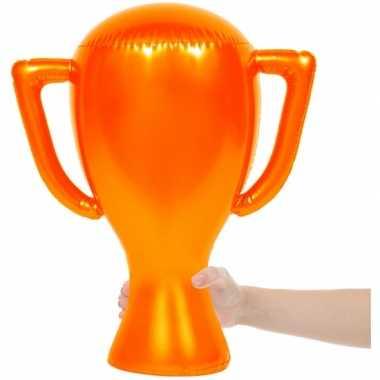 Opblaasbare oranje trofee