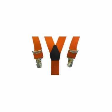Oranje bretels voor kinderen