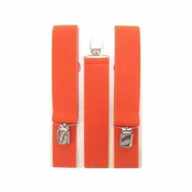 Oranje bretels