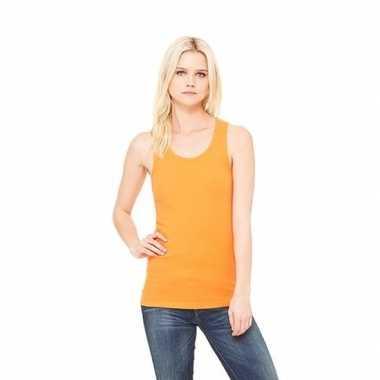 Oranje dames singlet