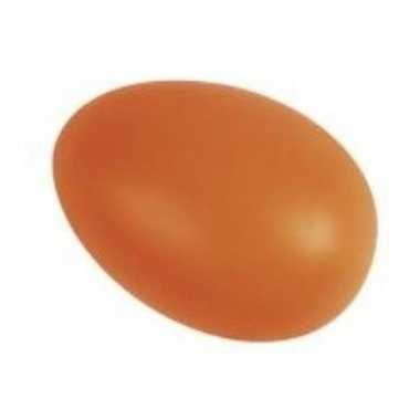Oranje eieren versiering 6 cm 25 stuks