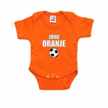 Oranje fan romper / kleding jong oranje ek/ wk voor babys