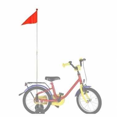 Oranje fietsvlag