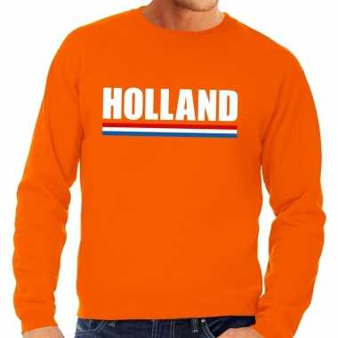 Oranje holland supporter trui heren en dames