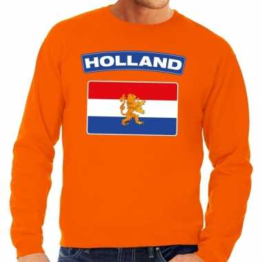 Oranje holland vlag trui heren en dames