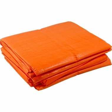 Oranje koningsdag zeilen 10 x 12 meter