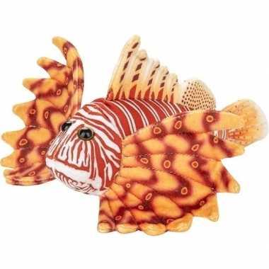Oranje koraalduivel vissen knuffels 21 cm knuffeldieren
