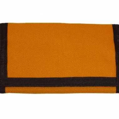 Oranje portemonnee