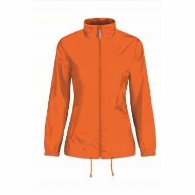 Oranje supporters jas voor volwassenen