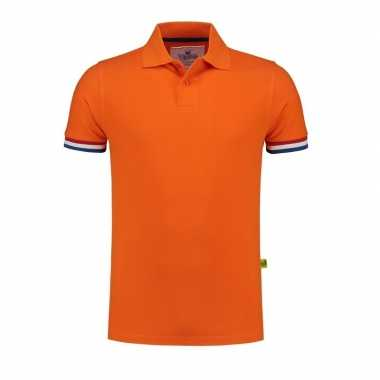 Oranje supporters polo shirt
