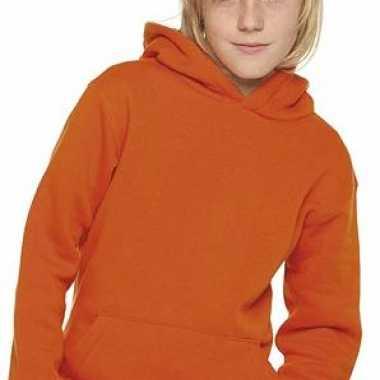 Oranje Trui.Oranje Trui Met Capuchon Voor Kids Oranje Webwinkel Nl