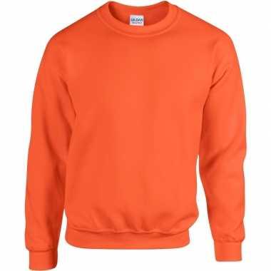 Oranje trui voor volwassenen