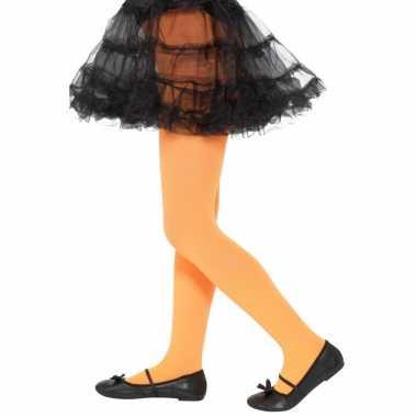 Oranje verkleedlegging voor kinderen 6 12 jaar