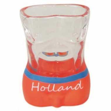 Shotglazen holland oranje