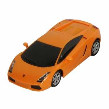 Speelauto lamborghini gallardo oranje
