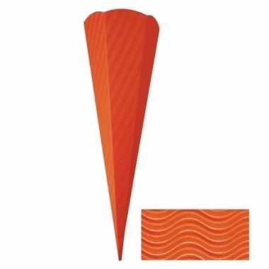 Suprise zak oranje 68 cm