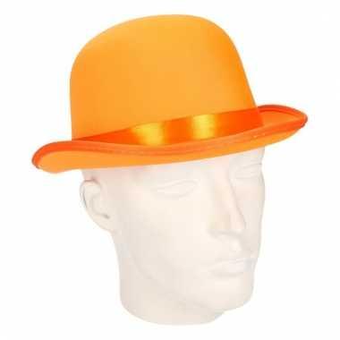 Volwassenen bolhoedje oranje
