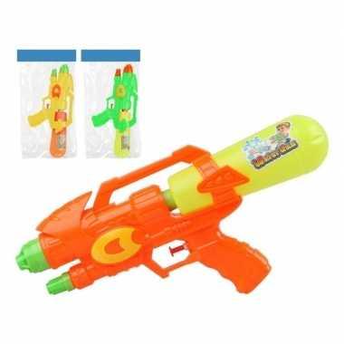 Watergeweer geel oranje 34 cm