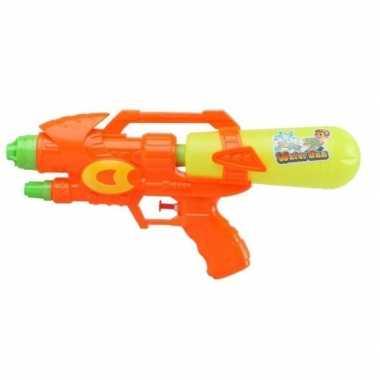 Watergeweer oranje geel 34 cm