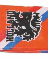 40x oranje holland feest servetten 33 x 33 cm ek wk