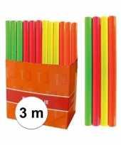 Boeken kaften kaftfolie neon oranje 3 meter