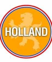 Holland oranje leeuw thema bierviltjes 100 stuks