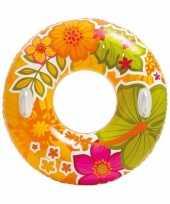 Oranje intex zwemband 97 cm 10086437